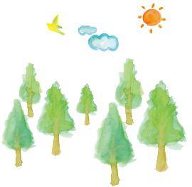 天然木のイメージ